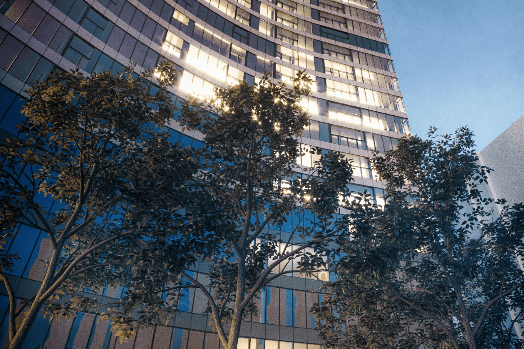 Tower apartments